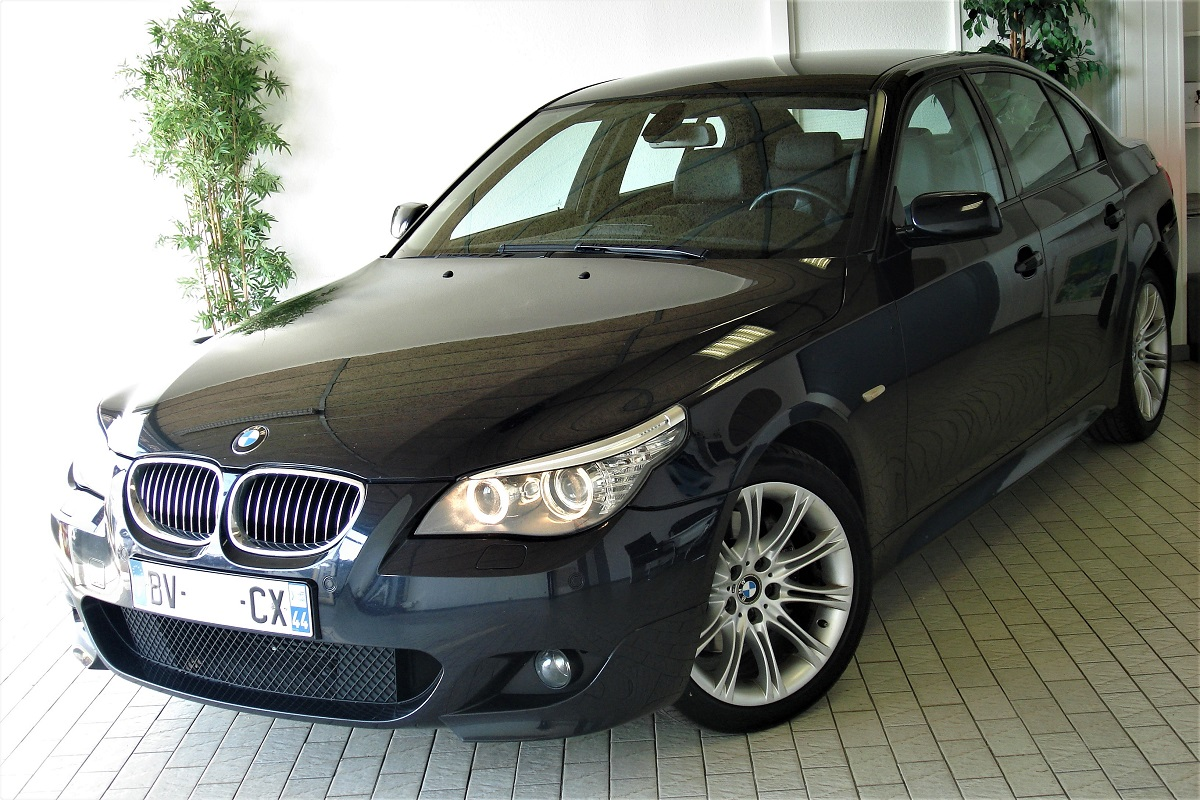 bmw e60 lci 530d 235ch sport design m bva m v cars 68. Black Bedroom Furniture Sets. Home Design Ideas